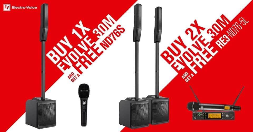 Electro-Voice 30M Promotion!